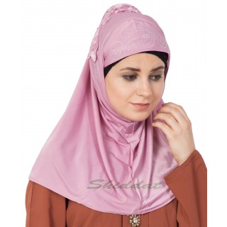 Ready-made  Hijab - Pink